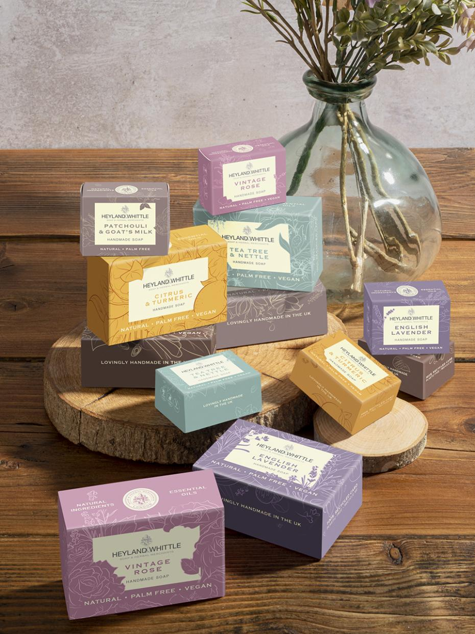 100% Eco-Friendly Soap Collection