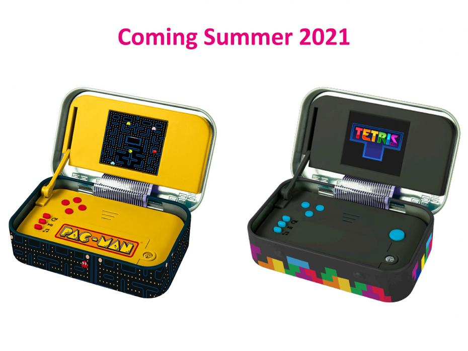 Licensed versions of Arcade in a Tin - Launching Summer 2021