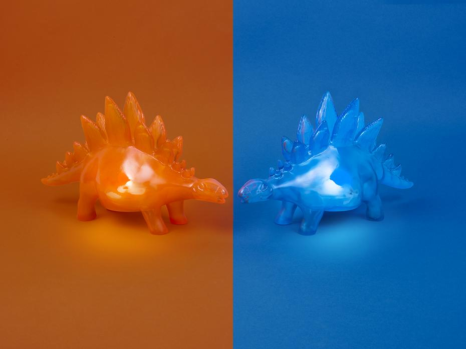 Stegosaurus Jelly Mood Light