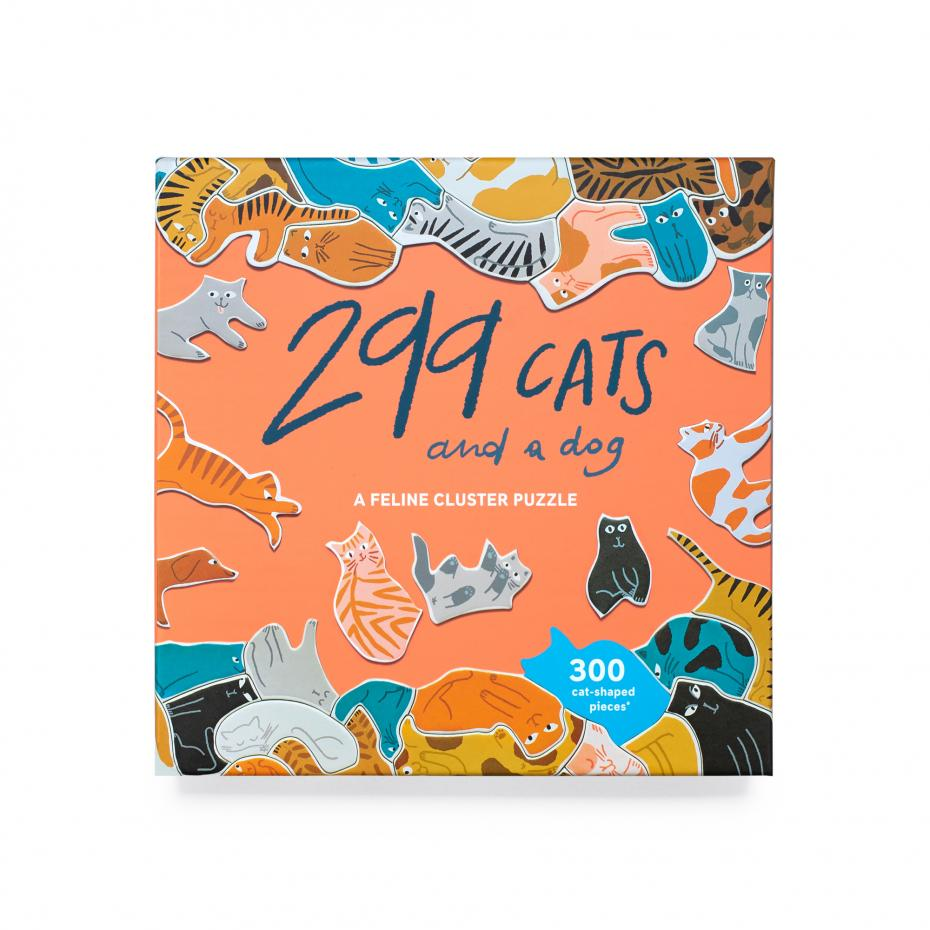 299 Cats & a Dog